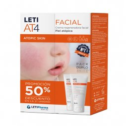 Leti At4 Pack Facial 50 ml 2ª ud al 50%