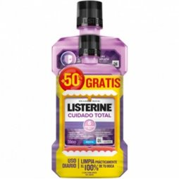 Listerine Cuidado Total 500ml+250ml