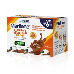 Meritene Drink Sabor Chocolate 6x125ml