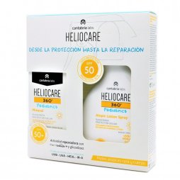 Heliocare Pediatrico 360 Lotion + Pediatrics Mineral
