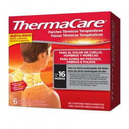 Parches Thermacare Cuello/Hombros 6ud